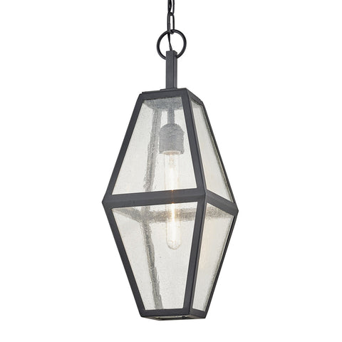 Oak Knoll 1 Light Hanger - Vintage Bronze Outdoor Troy