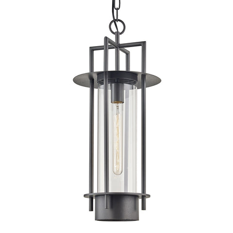 Carroll Park 1 Light Hanger - Bronze Outdoor Troy