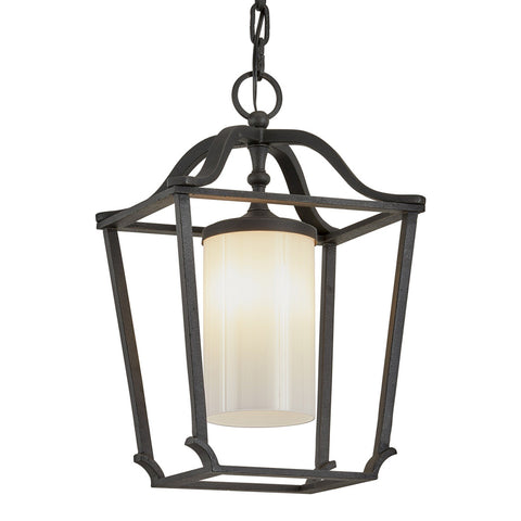 Princeton 1 Light Hanger - French Iron Outdoor Troy