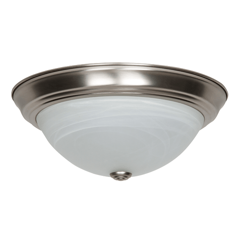 Luminance 13In 20W 3000K LED Flush Fix Albtr Gls