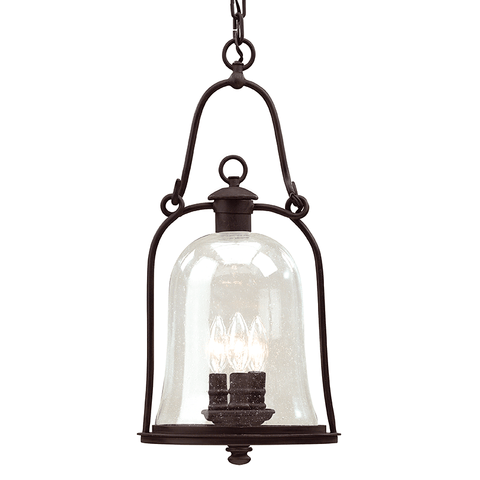 Owings Mill 3 Light Hanging Lantern Large - Natural Bronze Outdoor Troy