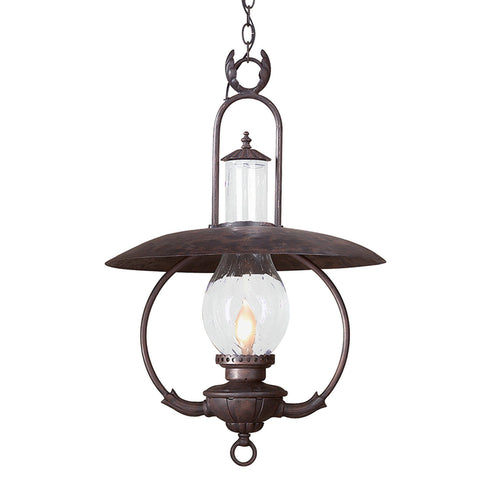 La Grange 1 Light Hanging Lantern Xlarge - Old Bronze Outdoor Troy
