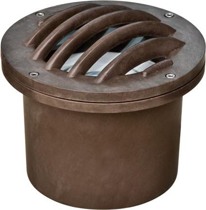 Fiberglass In-Ground Well Light with Grill Outdoor Dabmar