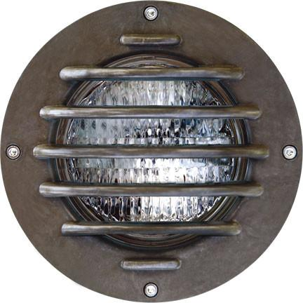 Dabmar Fiberglass In-Ground Well Light with Grill
