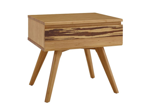 Azara Nightstand, Caramelized Furniture Greenington