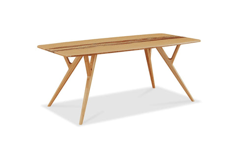 Azara Dining Table, Caramelized Furniture Greenington
