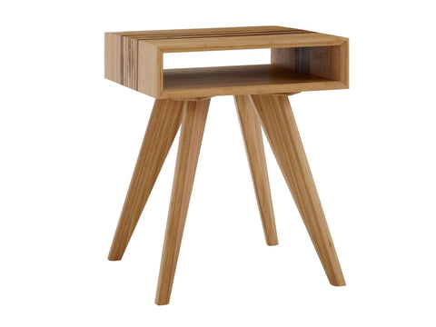 Azara End Table, Caramelized Furniture Greenington