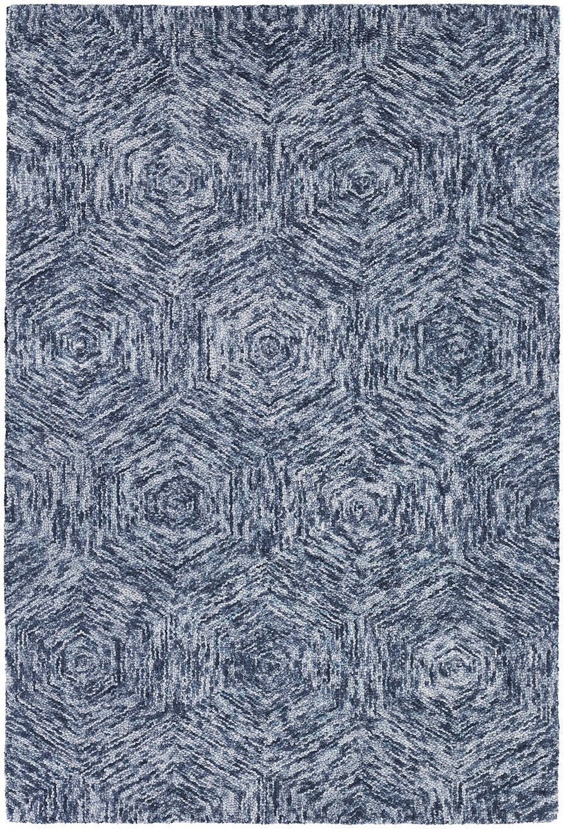 Galaxy 30605 5'x7'6 Blue Rug Rugs Chandra Rugs