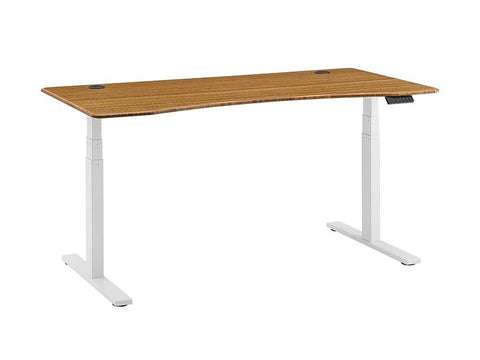 Ascent Hi-Lo Bamboo Adjustable Height Desk