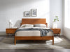 Monterey Queen Platform Bed - Amber