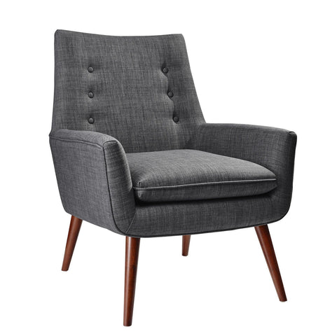 Carbison Gray Upholstered Armchair