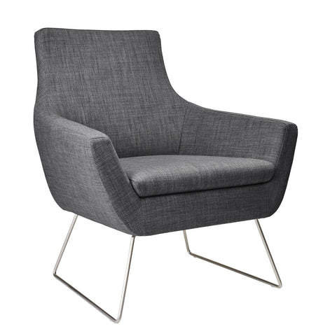 Kendrick Chair - Charcoal Grey Furniture Adesso