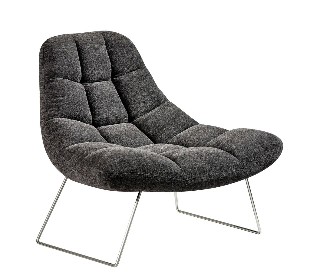 Bartlett Chair - Charcoal Grey Furniture Adesso