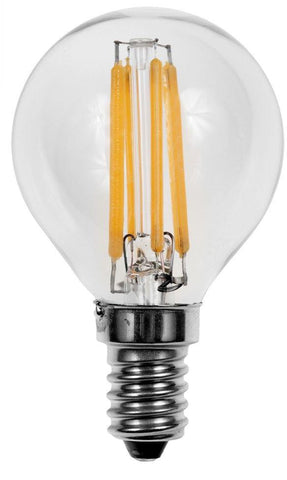 LED Filament G45(16.5) Globe E12 Base Bulb