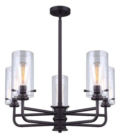 Albany 5 Light Chandelier - Oil Rubbed Bronze Ceiling 7th Sky Design