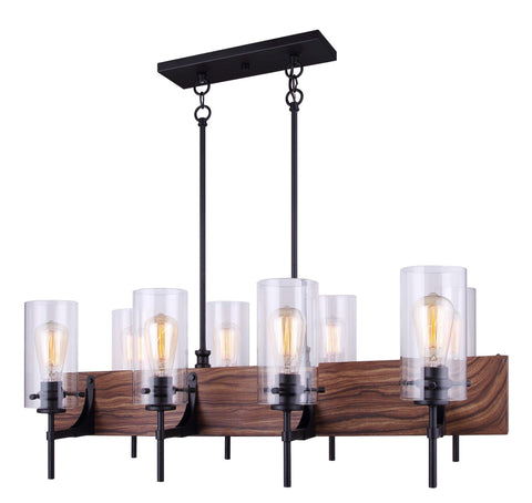 Arlie 8 Light Chandelier - Metal Ceiling 7th Sky Design