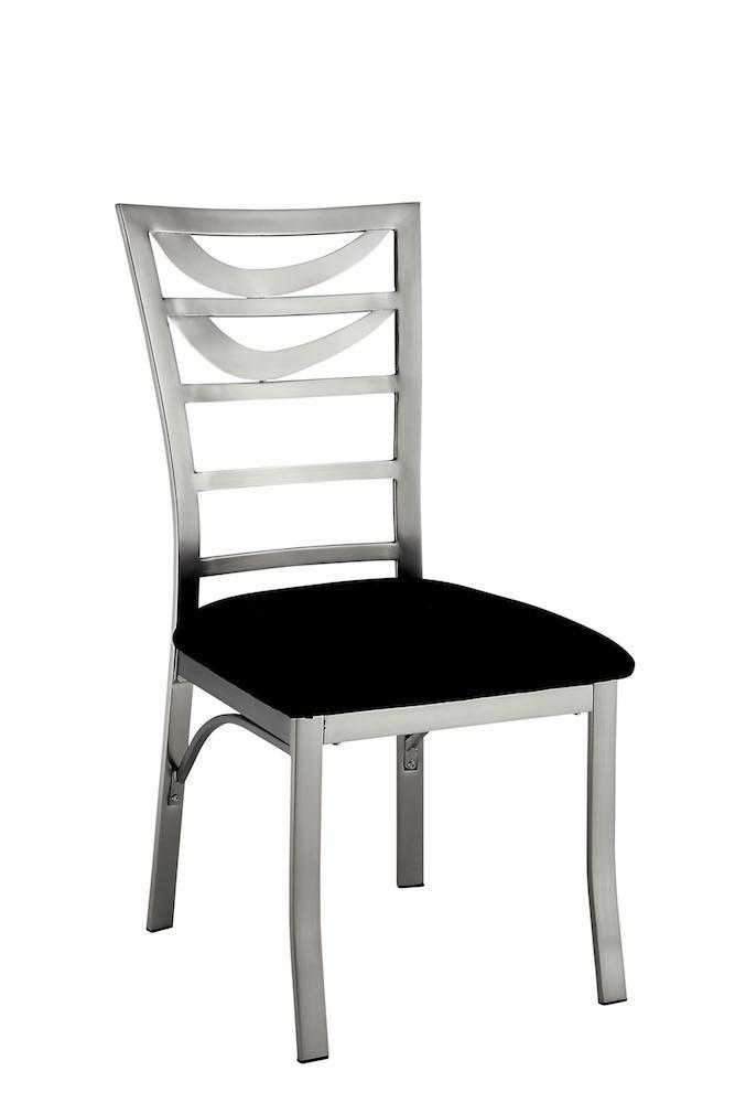 Bellon Modern Ladder Back Metal Dining Chair (Set of 2) Furniture Enitial Lab
