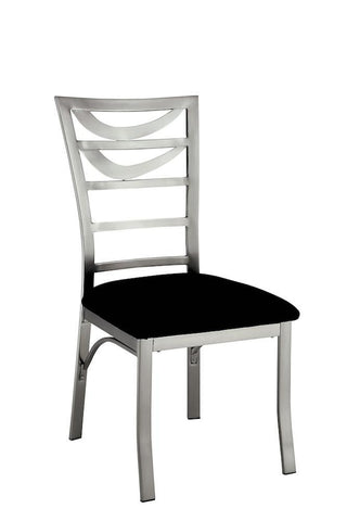 Bellon Modern Ladder Back Metal Dining Chair (Set of 2)
