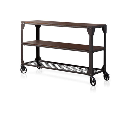 Dylan Sofa Table Oak & Metal