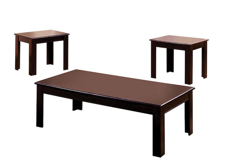 Seraf 3-Piece Accent Table Set Espresso Furniture Enitial Lab