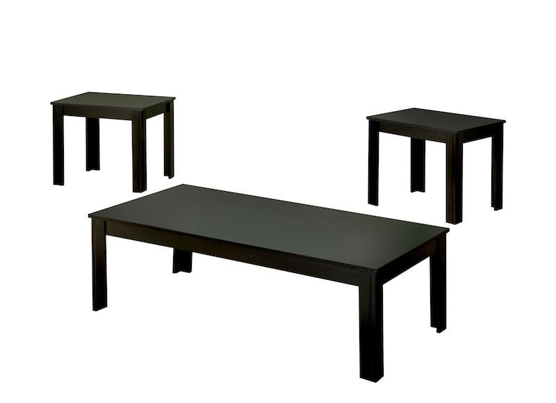 Gregson 3-Piece Accent Table Set Black Furniture Enitial Lab