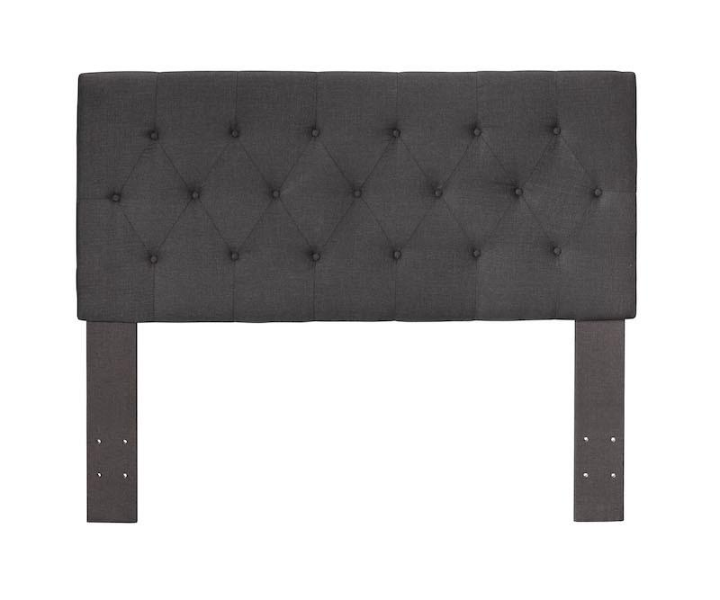 Diane Button-Tufted Full/Queen Headboard Gray Furniture Enitial Lab