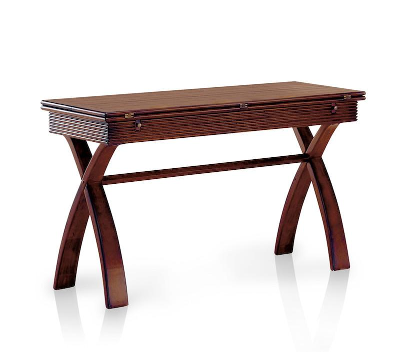 Lexer Expandable Sofa Table Cherry Furniture Enitial Lab