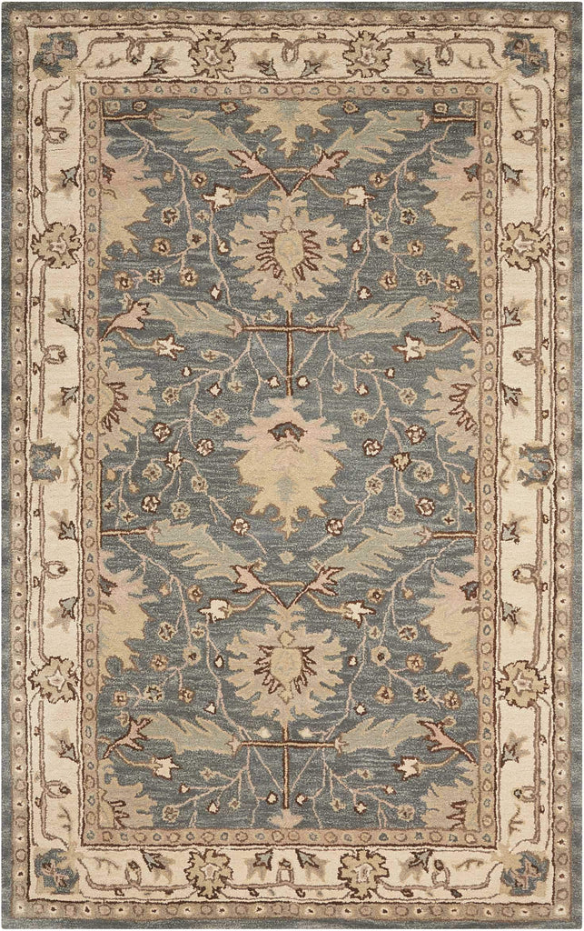 "India House Blue Rug - 8 Size and Shape Options Rugs Nourison 2'6"" x 4'"