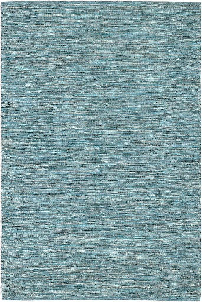 India 14 2'6x7'6 Blue Rug Rugs Chandra Rugs