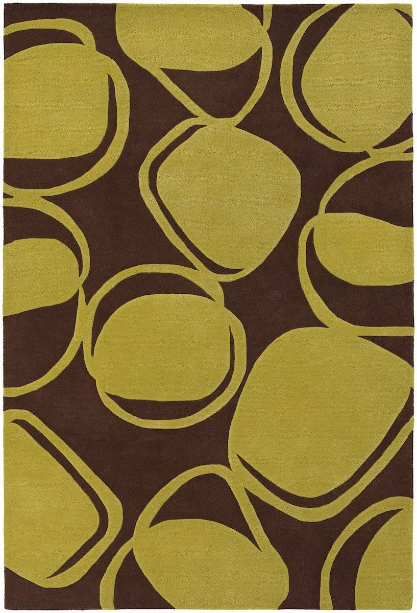 Inhabit 21604 5'x7'6 Yellow Green Rug Rugs Chandra Rugs
