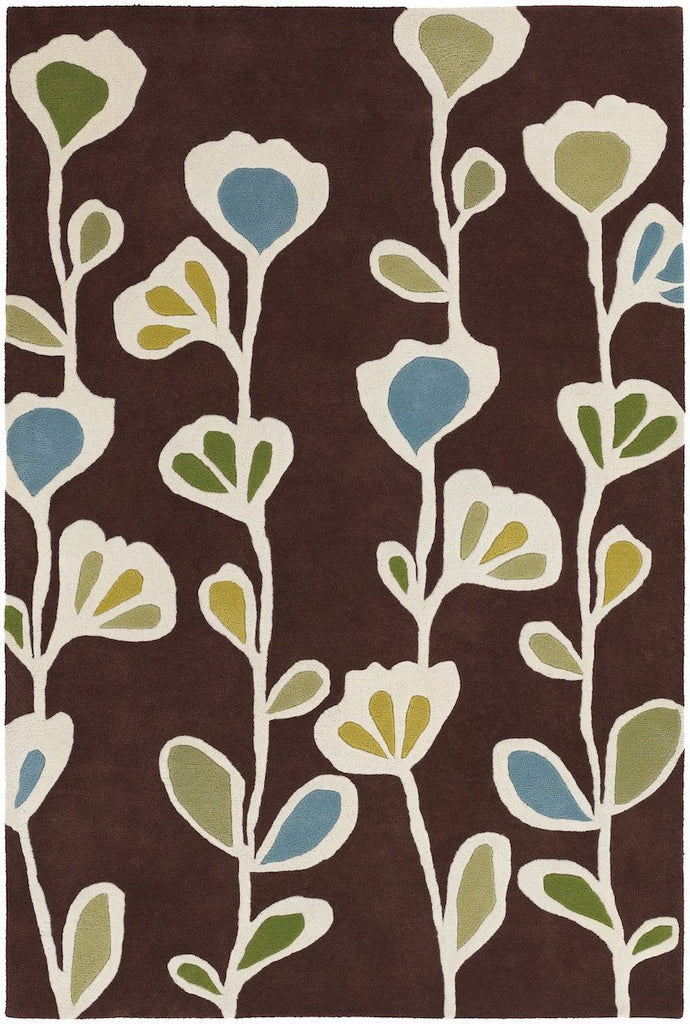 Chandra Rugs Inhabit 21608 5'x7'6