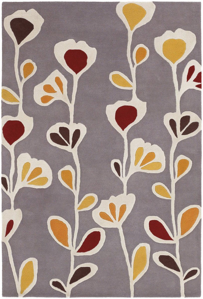 Inhabit 21609 7'9x10'6 Gray Rug Rugs Chandra Rugs
