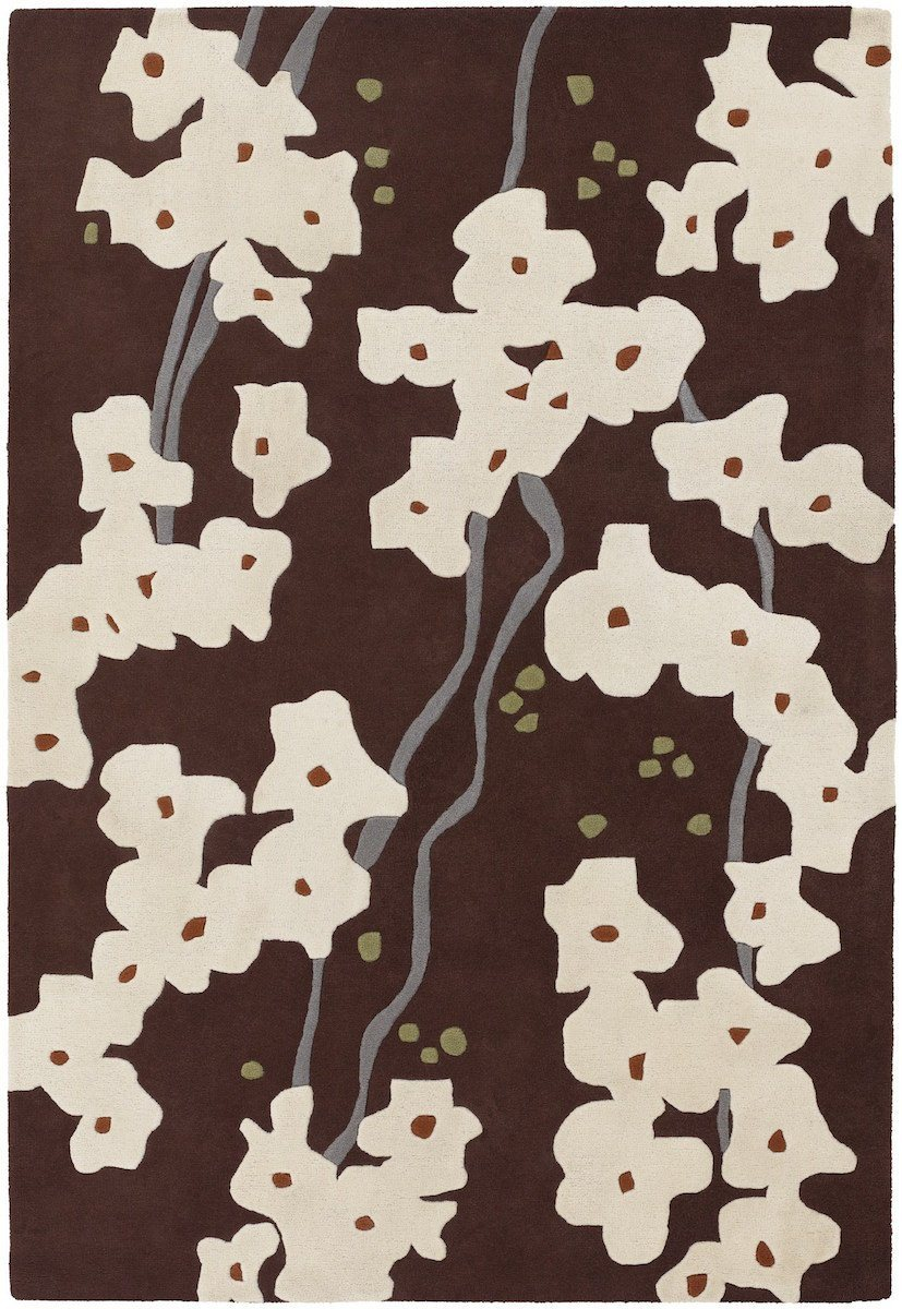 Inhabit 21612 7'9x10'6 Brown Rug Rugs Chandra Rugs