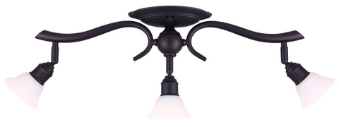 Addison 3 Head Track - Oil Rubbed Bronze Ceiling 7th Sky Design