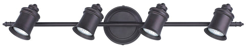 Taylor 4 Light Track - Oil Rubbed Bronze Ceiling 7th Sky Design
