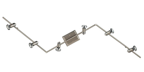 Shay 6 Light Track Light - Chrome Ceiling 7th Sky Design