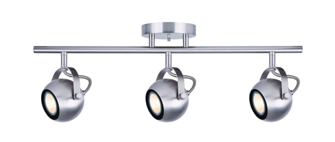 Murphy 3 Light Track - Brushed Nickel Ceiling 7th Sky Design