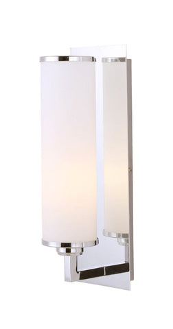 Amelia 1 Light Bath Vanity Light - Chrome