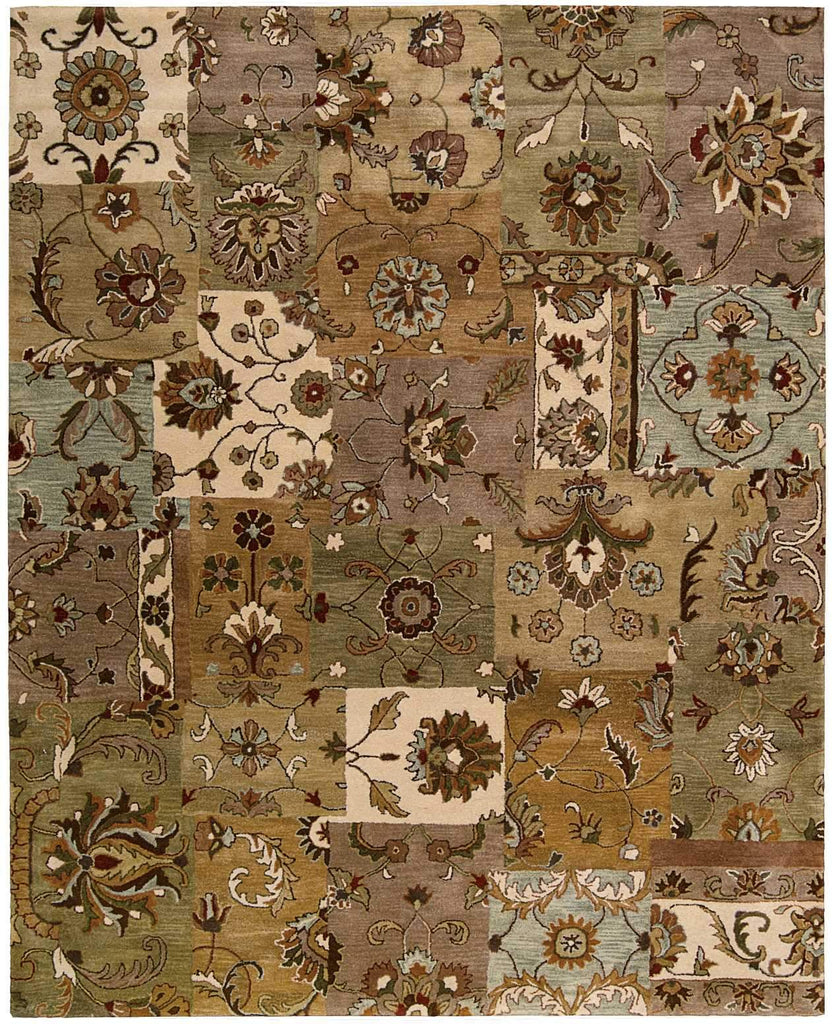 "Jaipur Light Multicolor Rug - 6 Size and Shape Options Rugs Nourison 3'9"" x 5'9"" Accent"