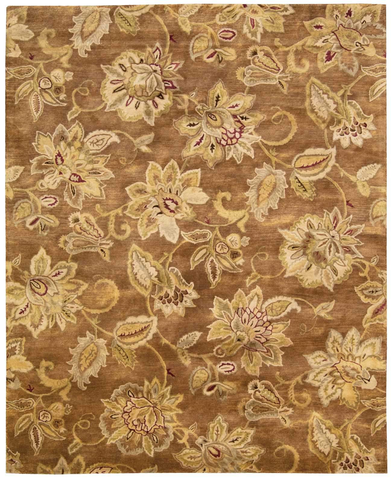 "Jaipur Bronze Rug - 5 Size and Shape Options Rugs Nourison 5'6"" x 8'6"" Area"
