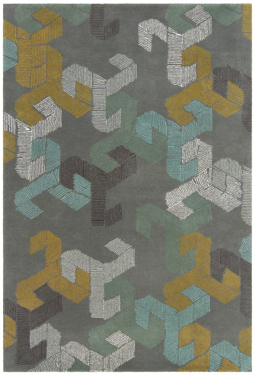 Jessica Swift 28907 5'x7'6 Gray Rug Rugs Chandra Rugs
