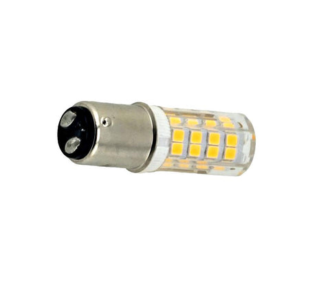 LED Bayonet Dual Contact BA15 2W WW (Dimmable) Bulb Bulbs Dazzling Spaces