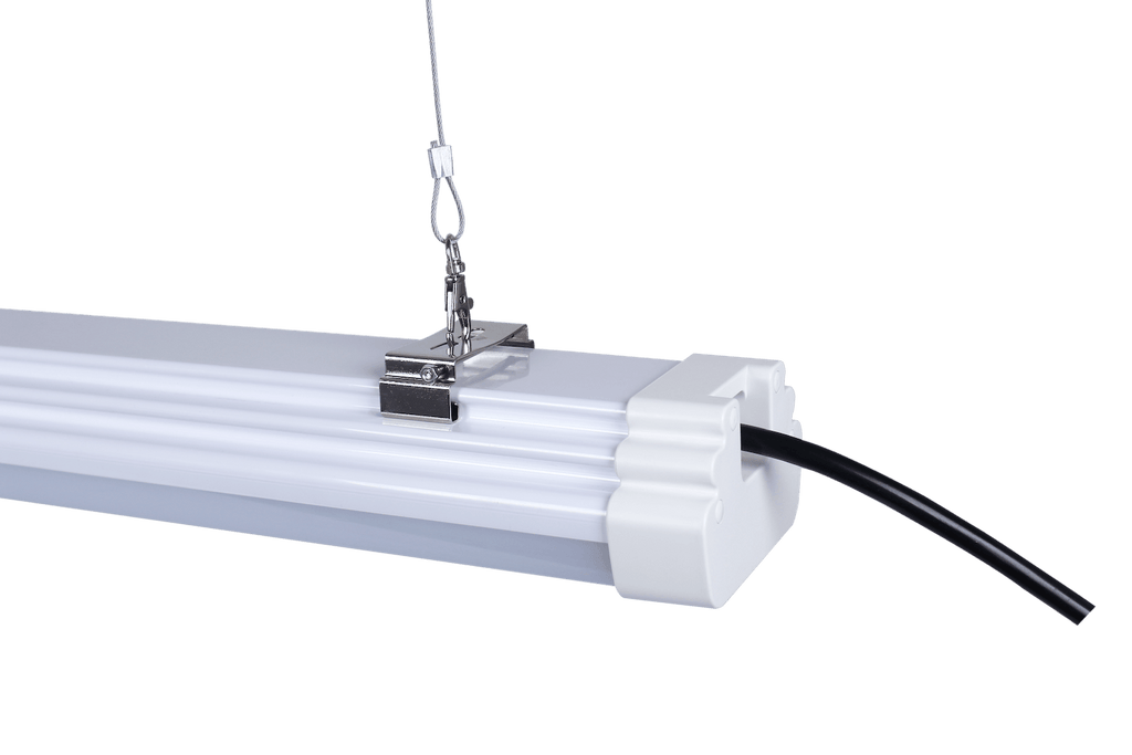 EZ-Mount Tri-Proof Linear LED Tube Light 5000K - Choose Length 2' to 8' Bulbs LED Trail