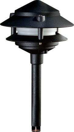 Dabmar Cast Aluminum Two Tier LED Pagoda Light