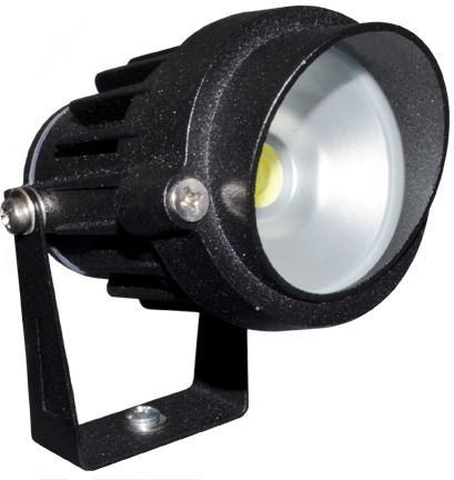 Cast Aluminum 12V Daylight 65K LED Spot Light with Hood - Verde Green Outdoor Dabmar