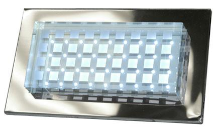 Cast Aluminum LED Recessed Brick/Step/Wall Light Stainless Steel Outdoor Dabmar