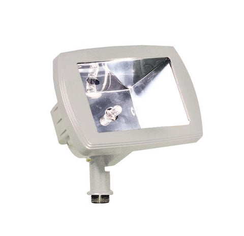 Cast Aluminum 12V Area Flood Light - White Outdoor Dabmar White Halogen