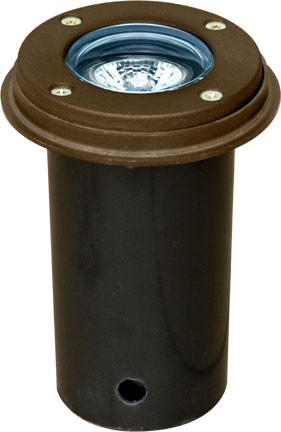 "Cast Aluminum 3"" In-Ground Well Light - Bronze"