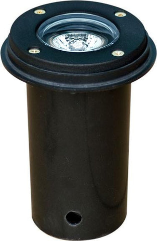 "Cast Aluminum 3"" In-Ground Well Light - Black"