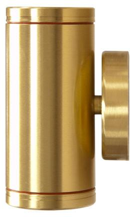"Solid Brass 5""h 12V Up-Down Wall Light"